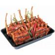 Spare ribs rek en pan