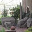 Ravenna® Rechthoekige vuurtafel hoes 142x97x56cm