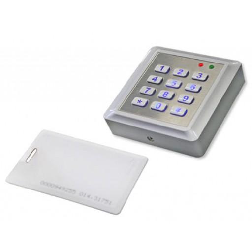 Sleutelloos Bedieningspaneel met RFID of code - Type M