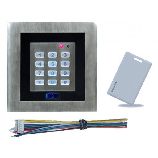 Type L - Sleutelloos Bedieningspaneel met RFID ondersteuning (bedraad)