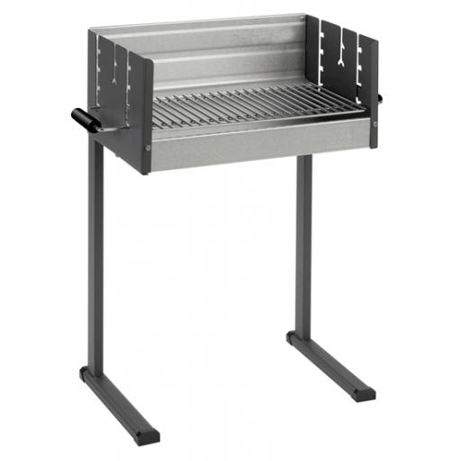 dancook 7100 box model houtskool barbecue, 50cm breed