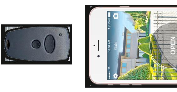 Garage Afstandsbediening Kopieren : 1control solo hekopener en garagedeuropener via je smartphone