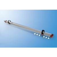 Extra wielgoot rail Quick rood