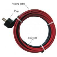 Rood/zwarte of blauw/zwarte DuoTherm kabel