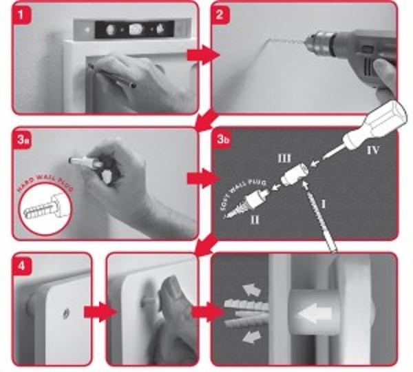 Afbeelding van installatie instructies